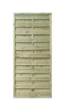 Płot drewniany szczelny 90x200x4,5x4,5 naturalny L10,5
