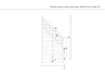 Płot drewniany szczelny skos kratka 180x90x3,5x4,5 brązowy L10