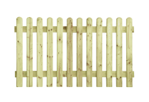 Płot drewniany sztachetowy 100x180x3,8