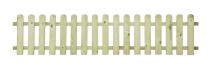 Płot drewniany sztachetowy 40x180x3,2 - II gatunek