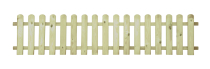 Płot drewniany sztachetowy 40x180x3,2