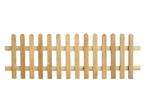 Płot drewniany sztachetowy 60x180x3