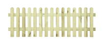 Płot drewniany sztachetowy 60x180x3,2