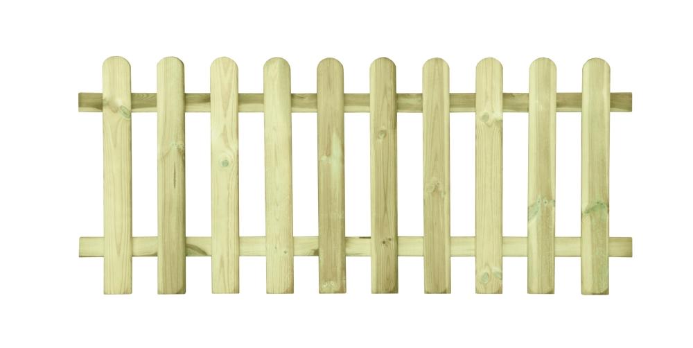 Ogrodzenie sztachetowe - płot o wymiarach 80 x 180 cm