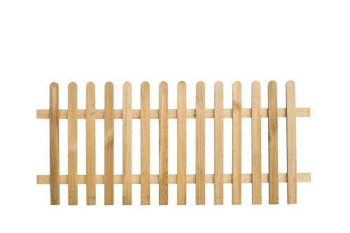 Płot drewniany sztachetowy 80x180x3
