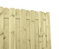 Płoty drewiane HOLENDER posiadają klasyczną, solidną konstrukcję wzmocnioną ryglami