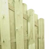 Ciekawa konstrukcja idealna jako dodatek do ogrodzenia drewnianego