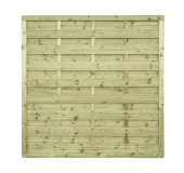 Płot drewniany szczelny 180x180x4,5x6,5 naturalny L11,6