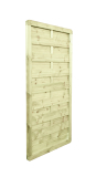 Płot drewniany szczelny 180x90x4,5x6,5 naturalny L11,6