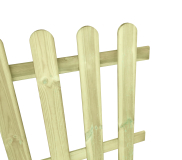 Płot drewniany sztachetowy 80x180x3,2