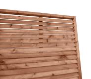 Płot drewniany deskowy żaluzja 180x90x6