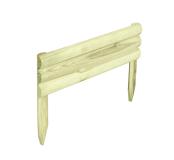 Krótki i niski element do użycia jako obrzeże trawnikowe lub rabatowe