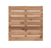 Naturalny i ekologiczny podest z drewna sosnowego