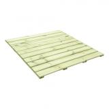 Podesty drewniane można wykorzystać do budowy ścieżek w ogrodzie