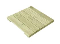 Podest tarasowy drewniany 30x30x2,4