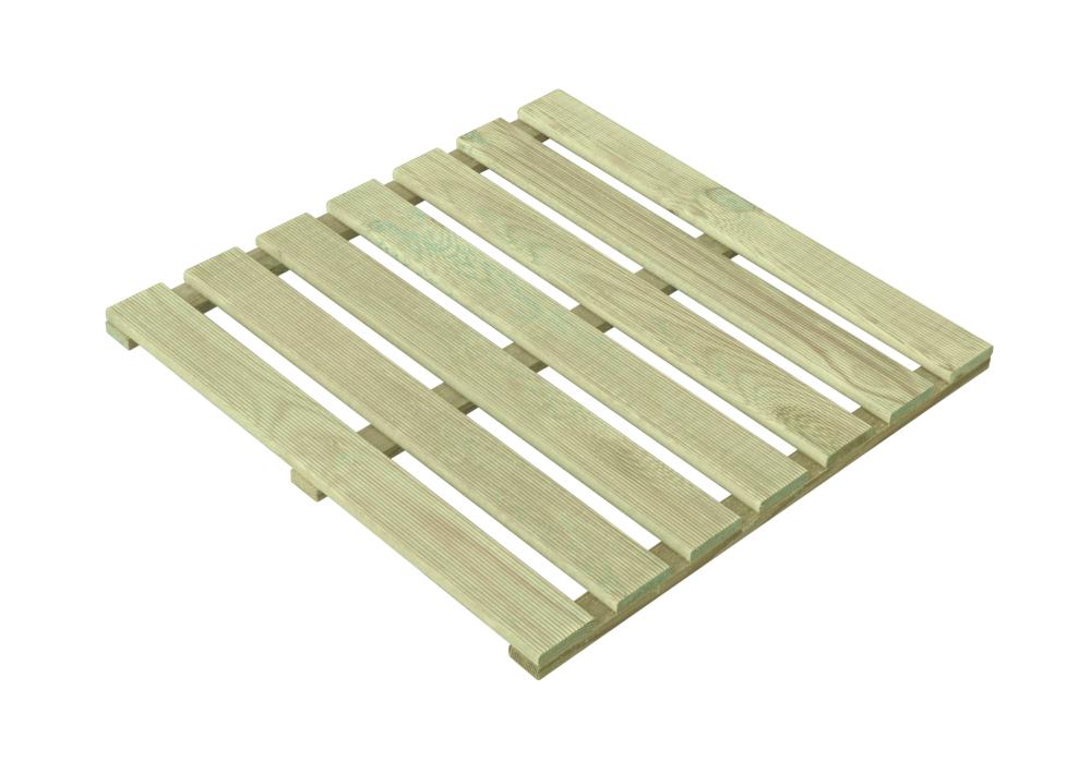 Podest tarasowy drewniany 50x50x2,4