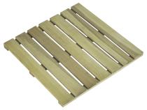 Podest tarasowy drewniany 50x50x3 naturalny