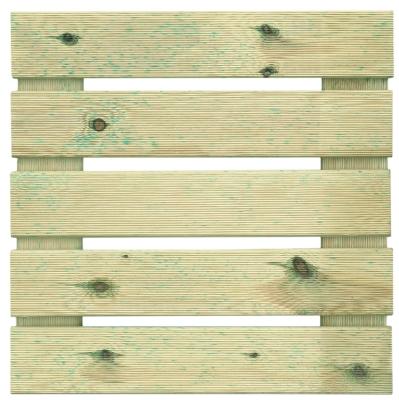 Podest tarasowy drewniany 50x50x4 naturalny