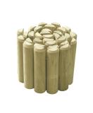 Rollborder z naturalnego drewna - impregnowany ciśnieniowo
