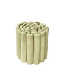 Obrzeże rabatowe w naturalnym kolorze drewna sosnowego