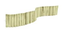Drewniany rollborder o długości 200 cm - możliwość nadania dowolnego kształtu
