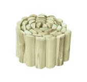 Palisadę drewnianą możesz formować w dowolny sposób