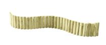 Palisada ogrodowa o długości 150 cm - zielonkawy odcień