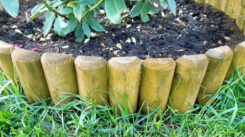 Niski rollborder - do oznaczania stref, granic i przestrzeni w ogródku