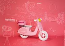 Drewniany rower - doskonały prezent na urodziny lub gwiazdkę