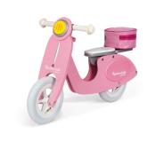 Rowerek Scooter w kolorze różowym zachwyci wszystkie dziewczynki