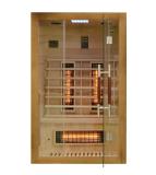 Sauna infrared EA2R 120x105 brązowy