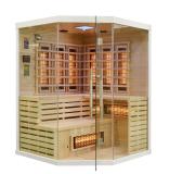 Sauna infrared z koloroterapią EA3CR 150x150 biały