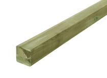 Słupek krawędziak drewniany 70x70x2200 zielony