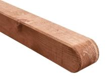 Solidny słupek konstrukcyjny - delikatna barwa brązowa
