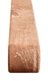 Krawędziak drewniany w kolorze brązowym łuk
