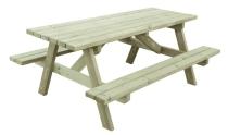 Stół grillowy z desek sosnowych - naturalny wybór do ogródka