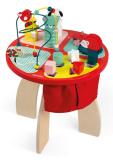 Nauka i zabawa w jednym - drewniany stolik dla dzieci z akcesoriami