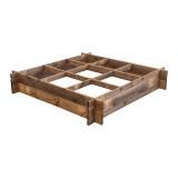 Warzywnik drewniany 100x100x18 z kratką
