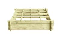 Rozsadnik z drewna sosnowego o wymiarach 120 x 120 cm
