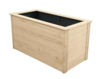 Warzywnik drewniany 150x78x75