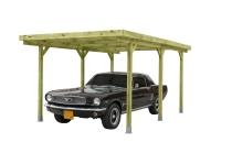 Drewniany garaż ogrodowy: do przechowywania pojazdów