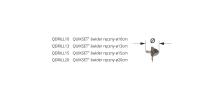 Rodzaje świdrów QUIKSET - różne wymiary średnic