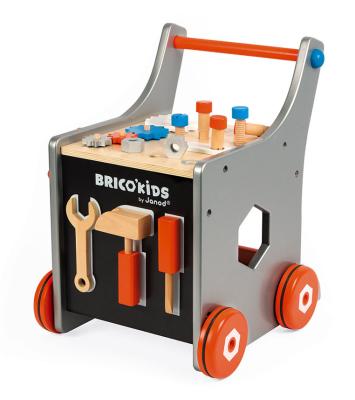 Wspaniała zabawka dla młodych majsterkowiczów - wózek warsztatowy Brico