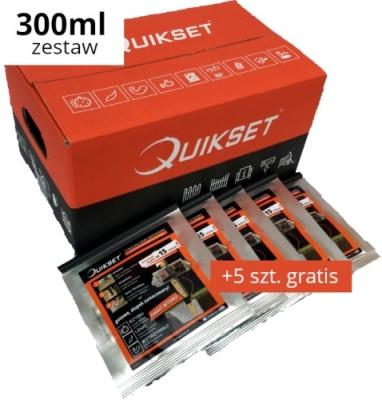 Zestaw 20 x Masa do montażu QUIKSET Q300 + 5 szt. GRATIS