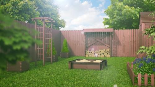 Holender – płot drewniany o podwyższonym standardzie, który zapewni trwałą ochronę Twojego ogrodu