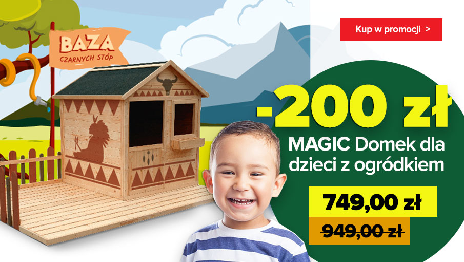 Domek MAGIC